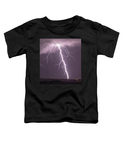 Nebraska Arcus And Lightning 046 Toddler T-Shirt
