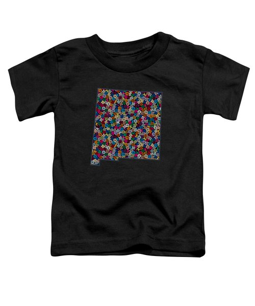New Mexico Map - 2 Toddler T-Shirt