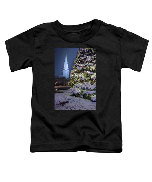 New Snow For Christmas Toddler T-Shirt