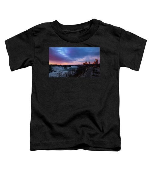 Niagara Falls At Sunrise Toddler T-Shirt