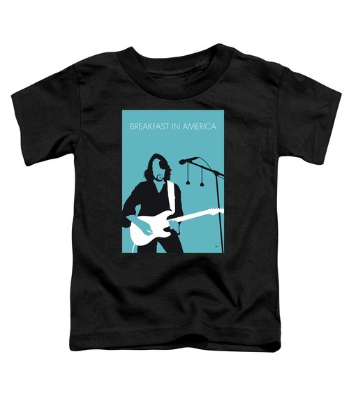 No215 My Supertramp Minimal Music Poster Toddler T-Shirt