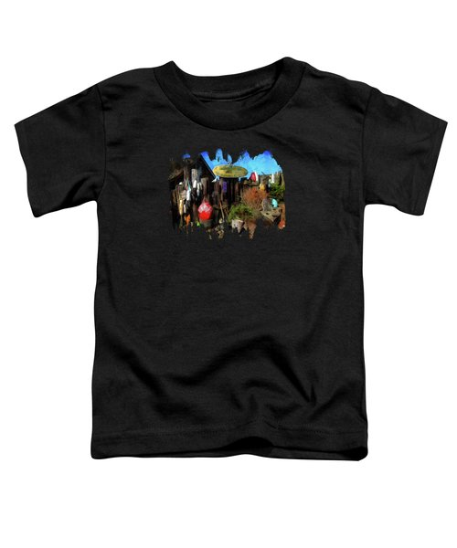 Nye Beach Bums Seaweed Bungalows Toddler T-Shirt