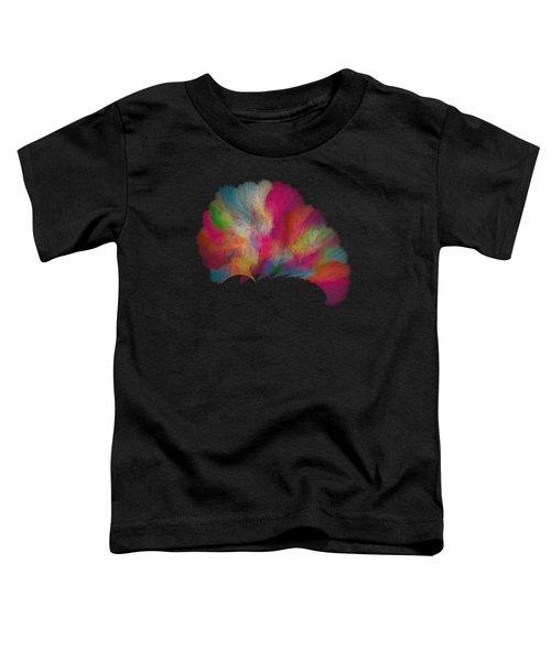 Ocean Fan Coral  Detailed Fractal  Toddler T-Shirt