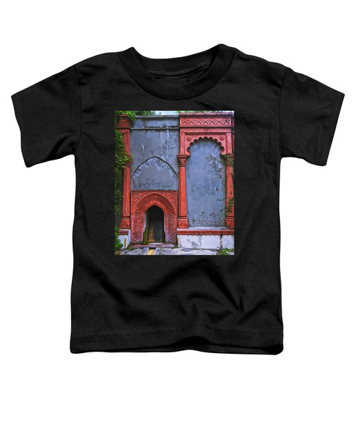 Ornate Red Wall Toddler T-Shirt