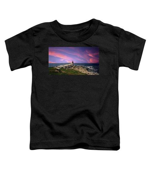 Painted Marshall Sunrise Toddler T-Shirt