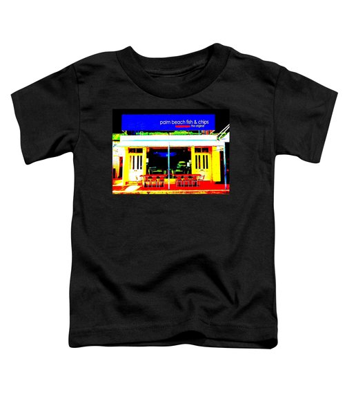 Palm Beach Australia - Fish And Chips Toddler T-Shirt