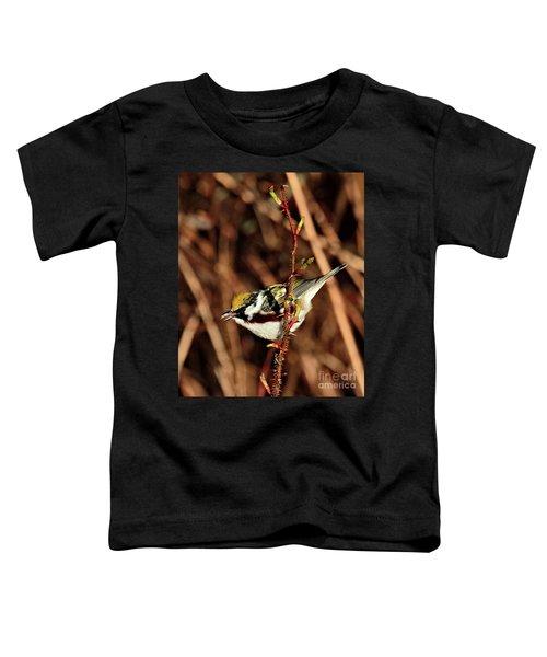 Perky Little Warbler Toddler T-Shirt