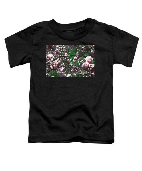 Pink Bush Toddler T-Shirt