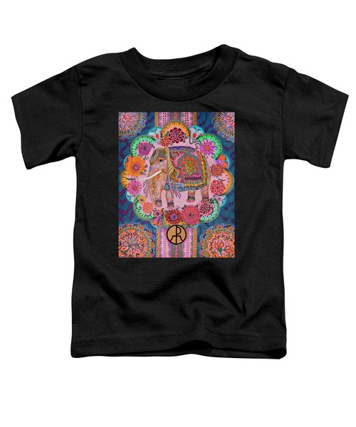Pink Elephant Toddler T-Shirt