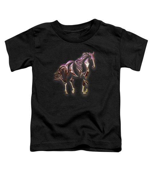Purple Horse Toddler T-Shirt