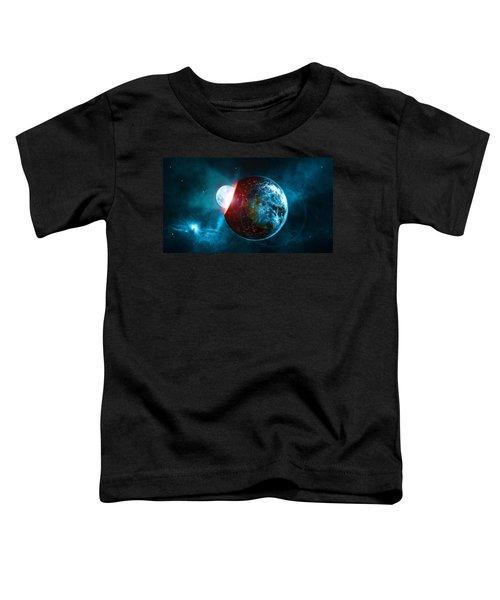 Planet Impact Toddler T-Shirt