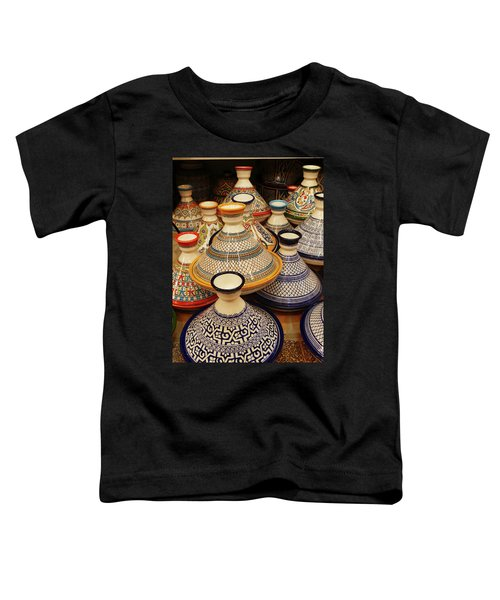 Porcelain Tagine Cookers  Toddler T-Shirt