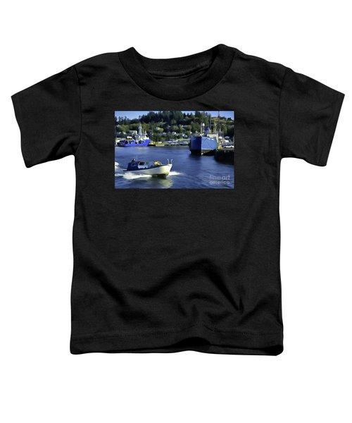 Port Of Astoria Oregon Toddler T-Shirt