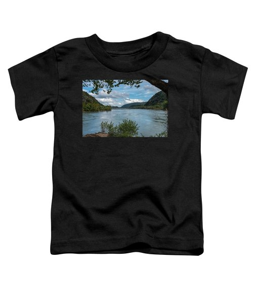 Potomac River At Harper's Ferry Toddler T-Shirt