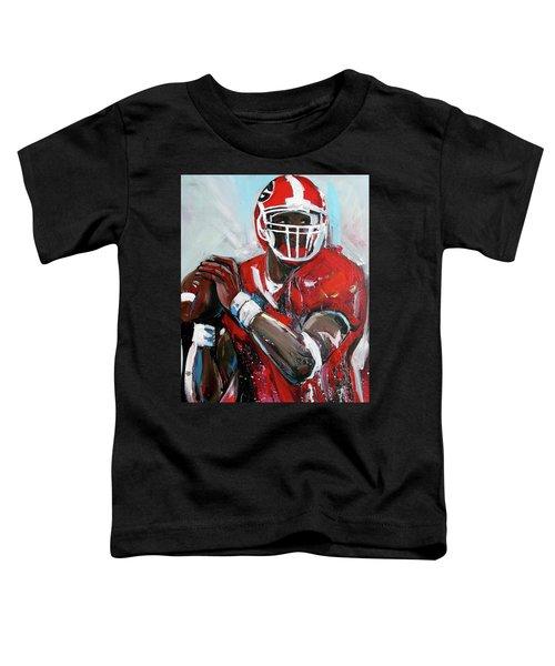 Quarterback Toddler T-Shirt