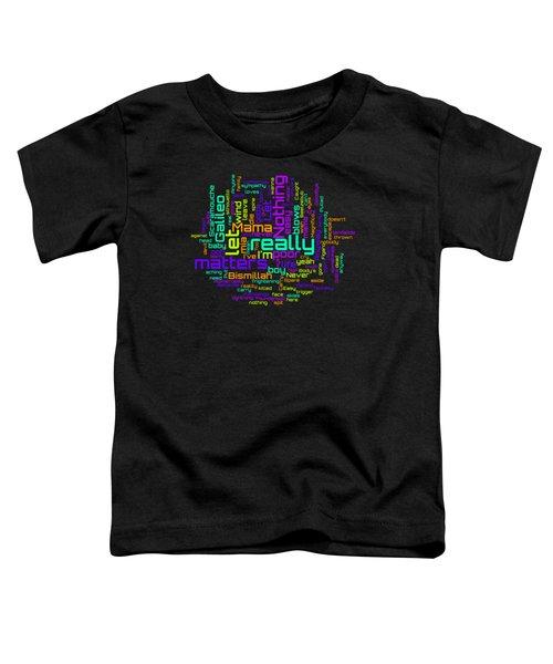 Queen - Bohemian Rhapsody Lyrical Cloud Toddler T-Shirt
