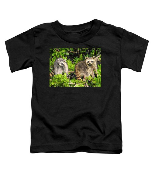 Raccoons In The Mangroves Toddler T-Shirt
