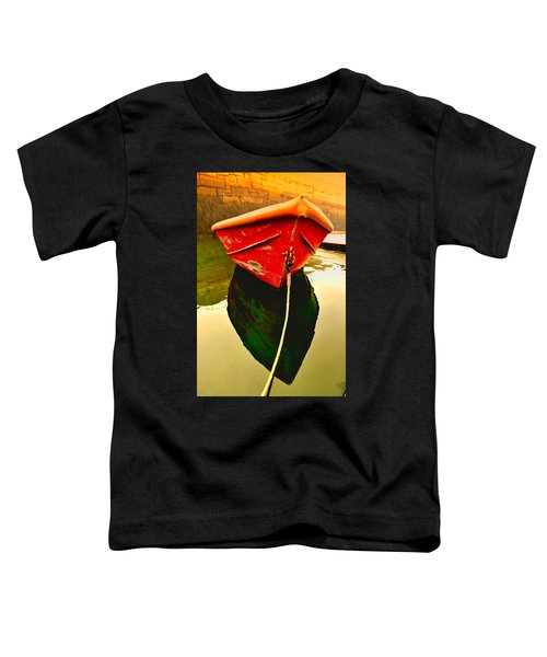Red Boat Toddler T-Shirt