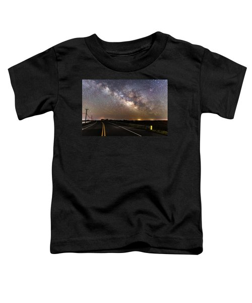 Road To Milky Way Toddler T-Shirt