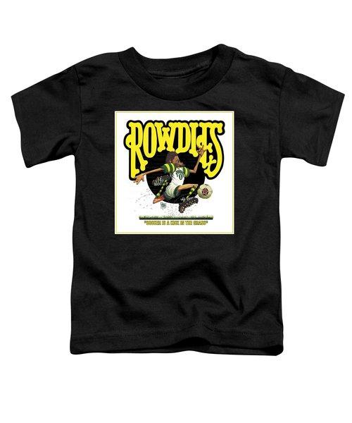 Rowdies Old School Toddler T-Shirt
