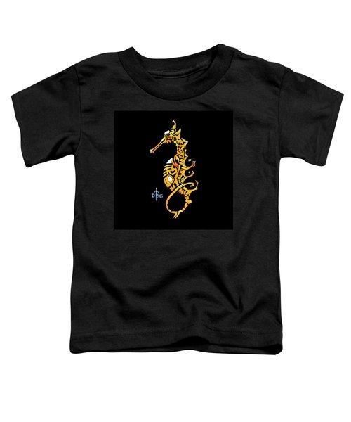 Seahorse Golden Toddler T-Shirt