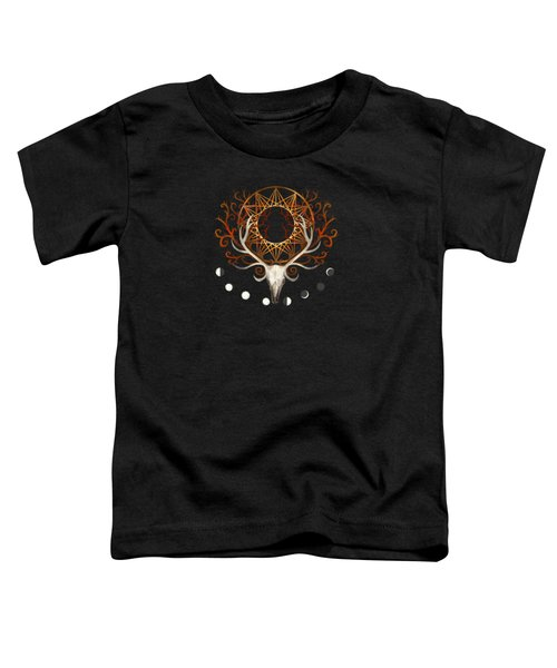 Season Of The Moons Autumn Fire Toddler T-Shirt