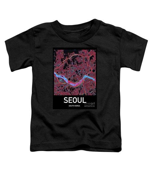 Seoul City Map Toddler T-Shirt