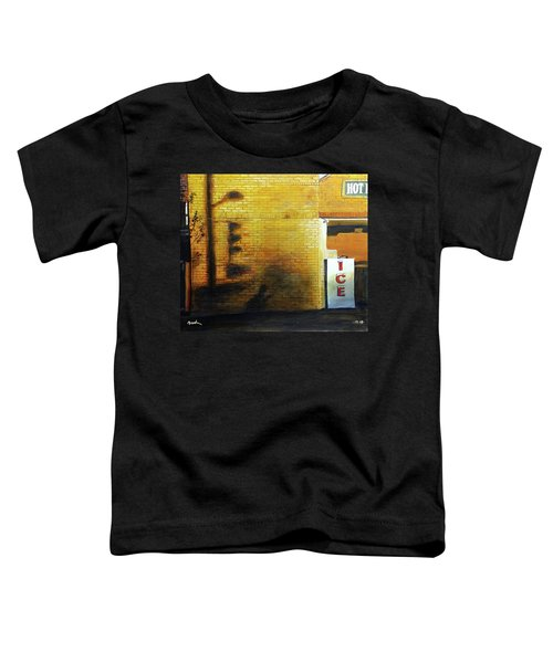 Shadows On The Wall Toddler T-Shirt