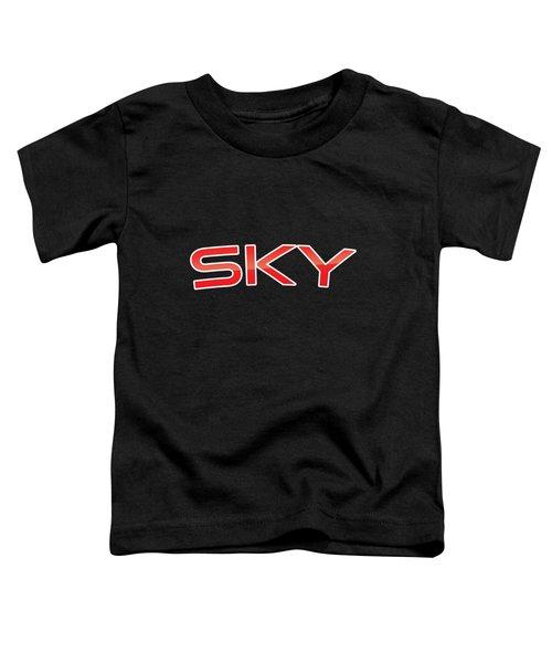 Sky Toddler T-Shirt