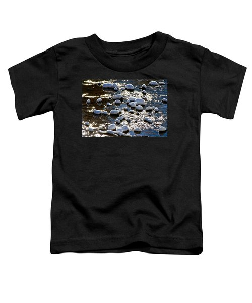 Snow Covered Rocks Toddler T-Shirt