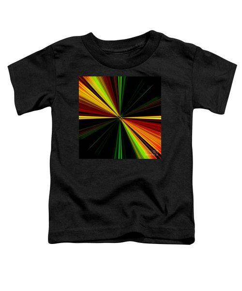 Starburst Light Beams Design - Plb461 Toddler T-Shirt