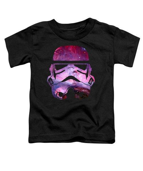 Storm Trooper Nebula Toddler T-Shirt