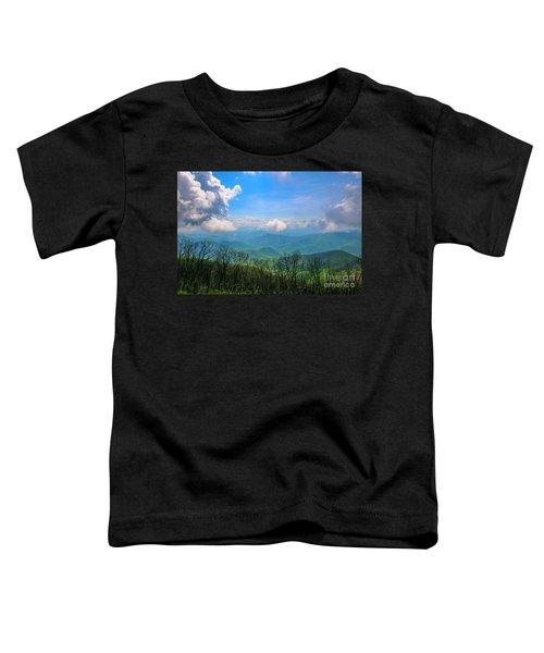 Summer Mountain View Toddler T-Shirt