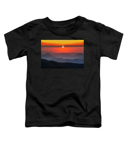 Sun Eye Toddler T-Shirt