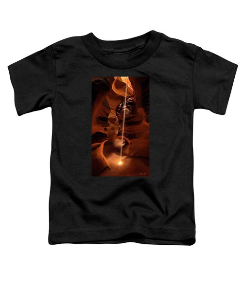 Sunbeam In Upper Antelope Canyon Toddler T-Shirt