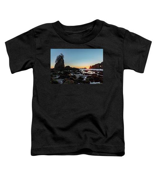 Sunburst At The Beach Toddler T-Shirt