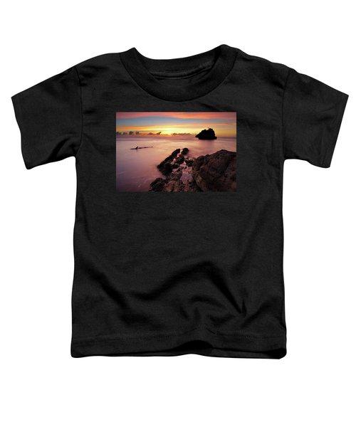 Sunset At Columbus Bay Toddler T-Shirt