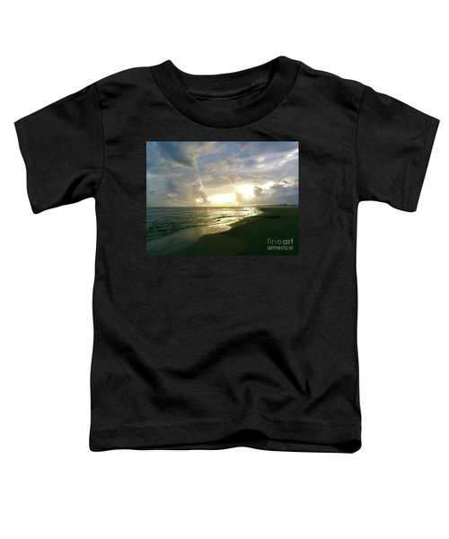 Sunset At The Beach Toddler T-Shirt