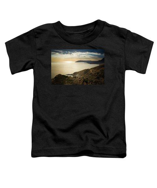 Sunset Near Tainaron Cape Toddler T-Shirt
