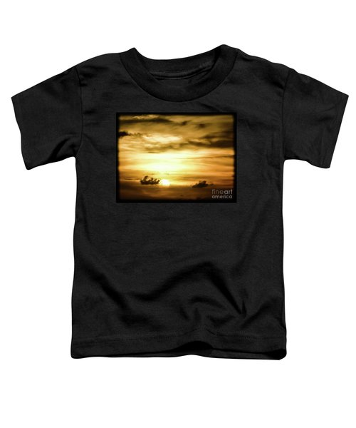 Sunset On The Pacific Ocean Toddler T-Shirt
