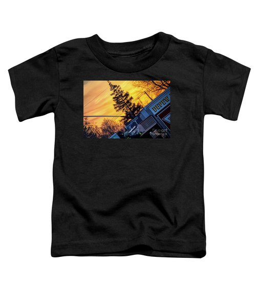 Sunset Streams Toddler T-Shirt