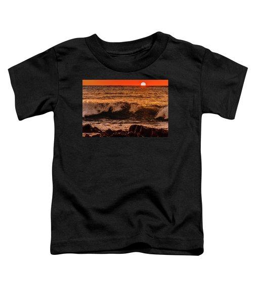 Sunset Wave Toddler T-Shirt