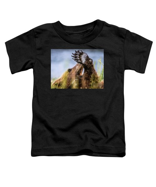 Talk To The Hand Toddler T-Shirt