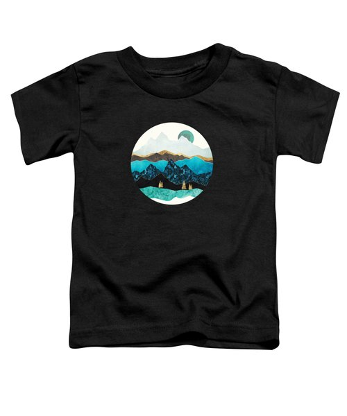 Teal Afternoon Toddler T-Shirt