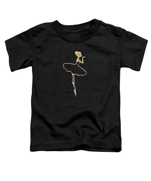 The Ballerina Toddler T-Shirt