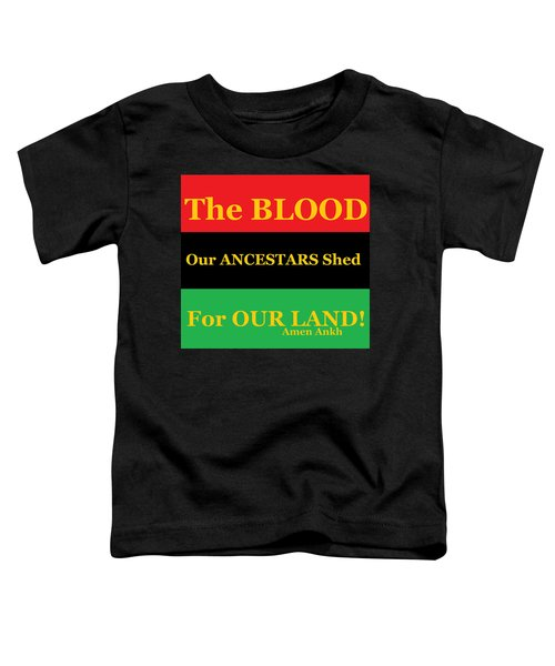 The Blood Toddler T-Shirt
