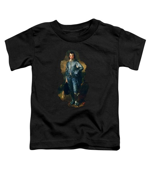 The Blue Boy By Thomas Gainsborough Toddler T-Shirt