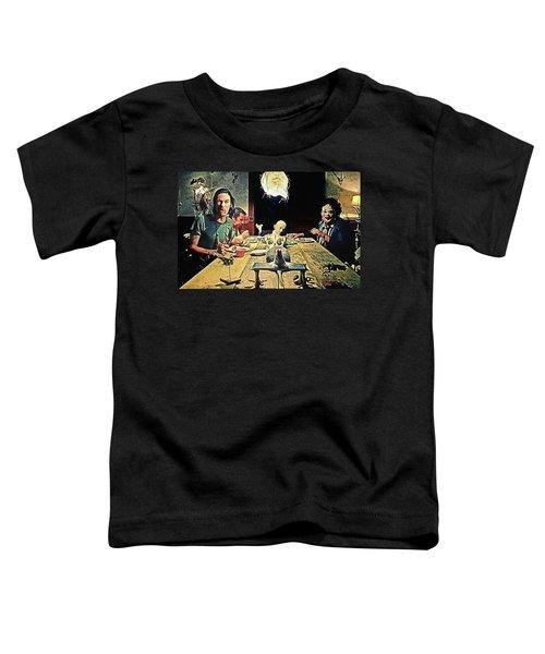 The Dinner Scene - Texas Chainsaw Toddler T-Shirt