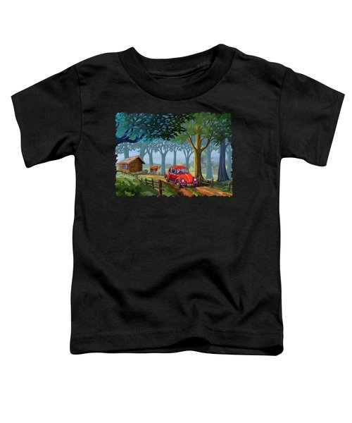 The Little Red Beetle Toddler T-Shirt