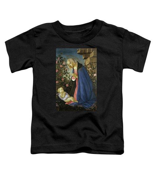 The Virgin Adoring The Sleeping Christ Child Toddler T-Shirt